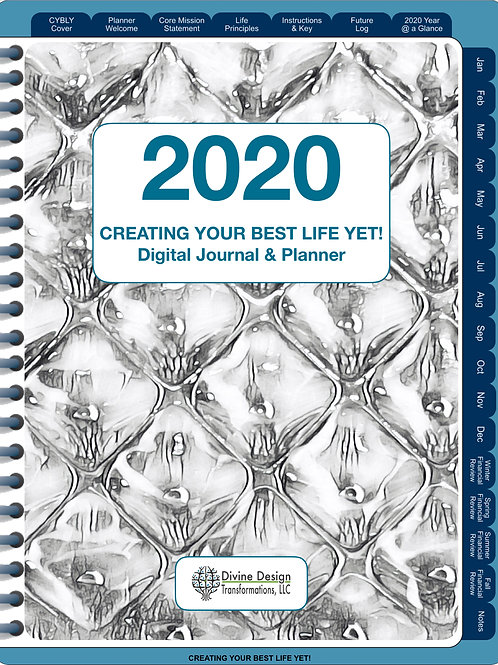 Creating Your Best Life Yet 2020 Digital Journal/Planner