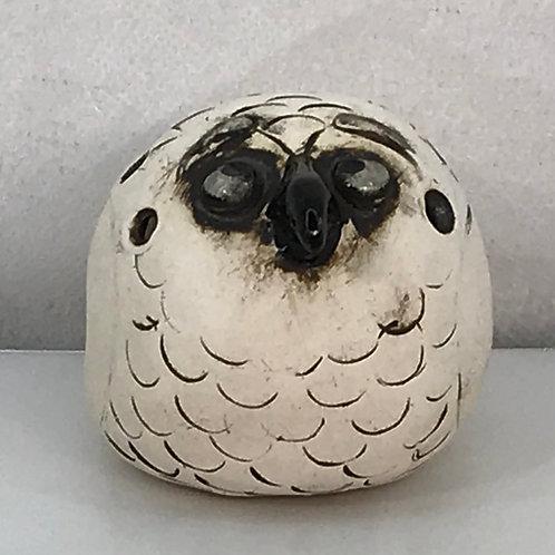 """Lookin' Up"" - Ceramic Bird Ocarina"