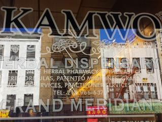 KAMWO(カムヲ)漢方薬局へお邪魔しました。
