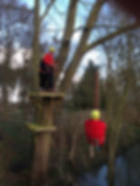 Zip wire rescue training outdoor education centre