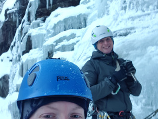 Ice Climbing in Rjukan