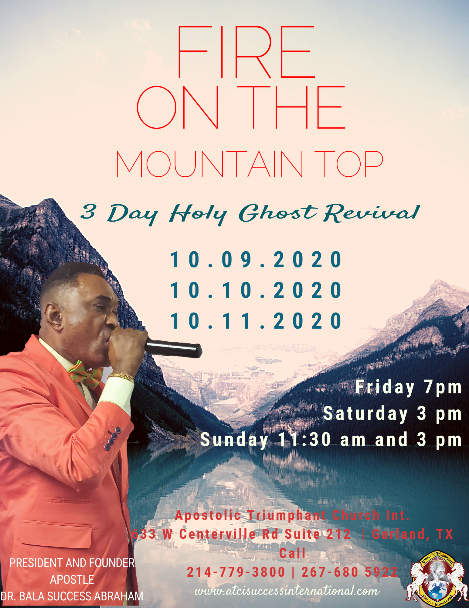 Fire on the Mountain Revival TX OCT 2020