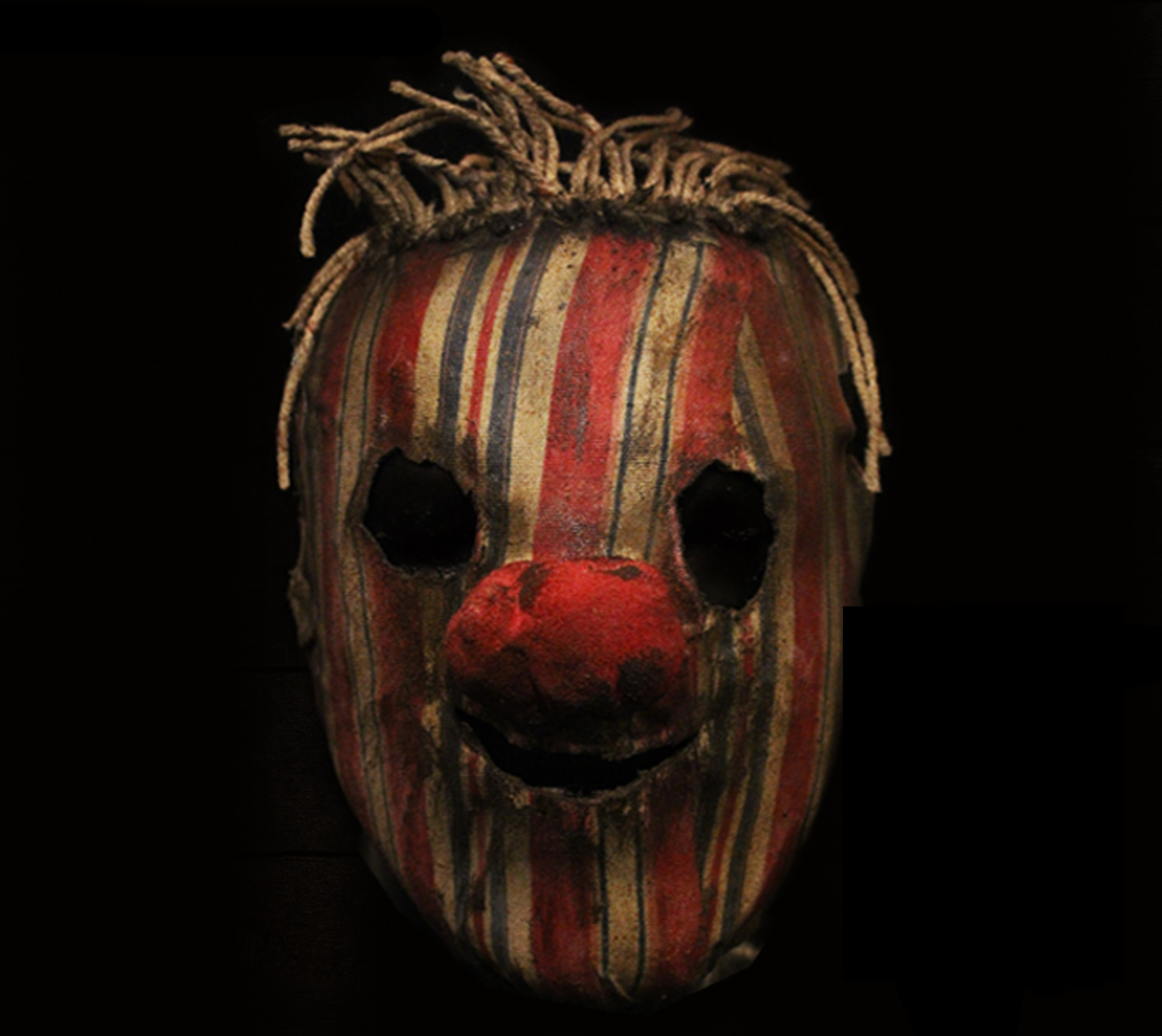 Custom Mask (Haunted House)