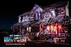 Haunted House Facade