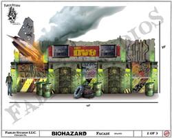 Haunted House Facade (Concept Art)