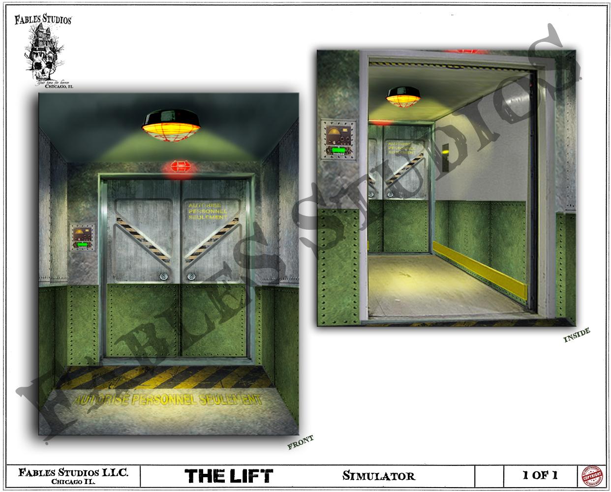 Elevator Simulator (Concept Art)