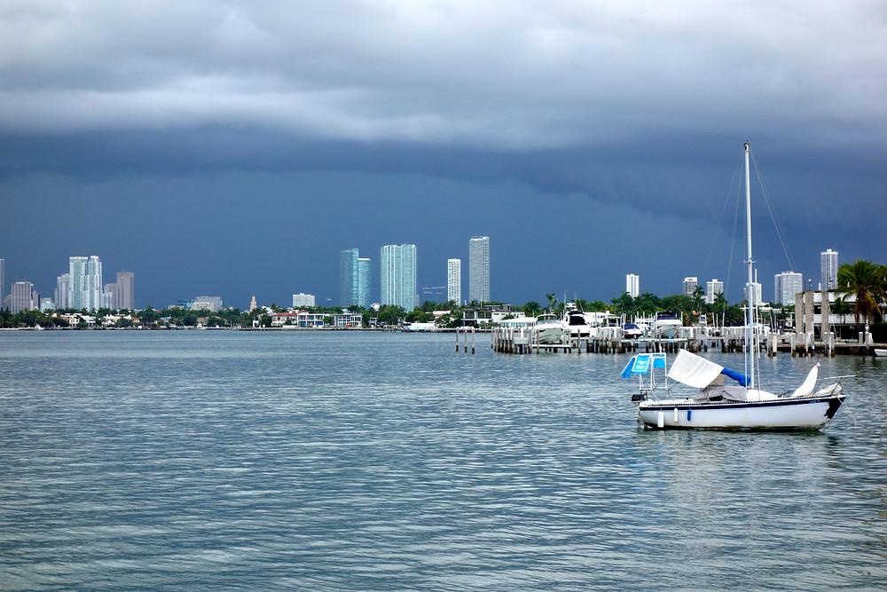Miami Beach Sehenswürdigkeiten, Miami Beach Gewitter, Miami Date County, Best of Miami