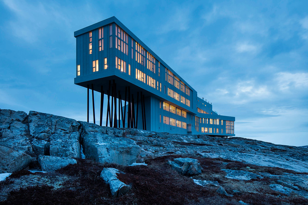 Fogo Island Inn, Hotel Neufundland, Die besten Luxushotels Kanadas, die spektakulärsten Hotels der Welt