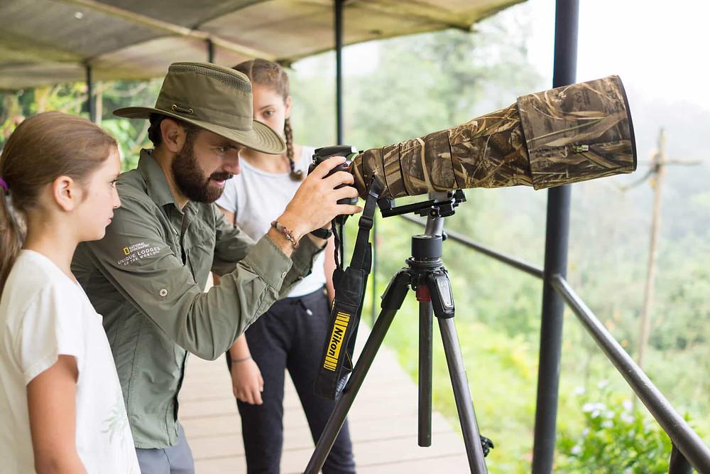 Vogelbeobachtung Mashpi Lodge Ecuador, Lodge bei Quito