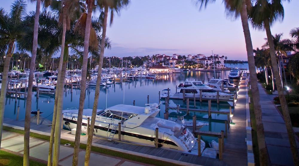 Yacht Hafen Fisher Island Miami, Yacht Harbor Fisher Island
