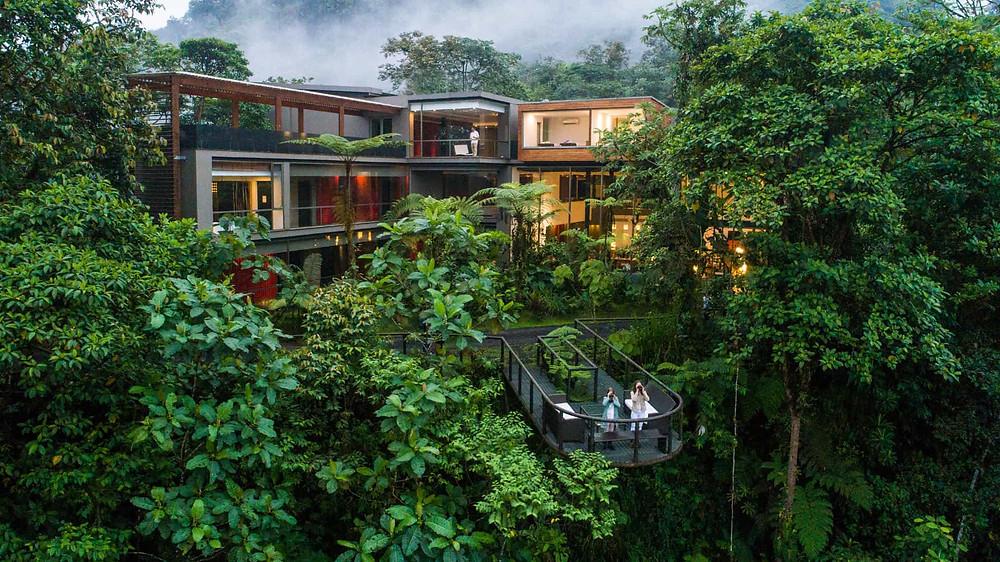 Mashpi Lodge Ecuador, Lodge im Regenwald, schönste Lodges der Welt, schönste Lodge Südamerikas