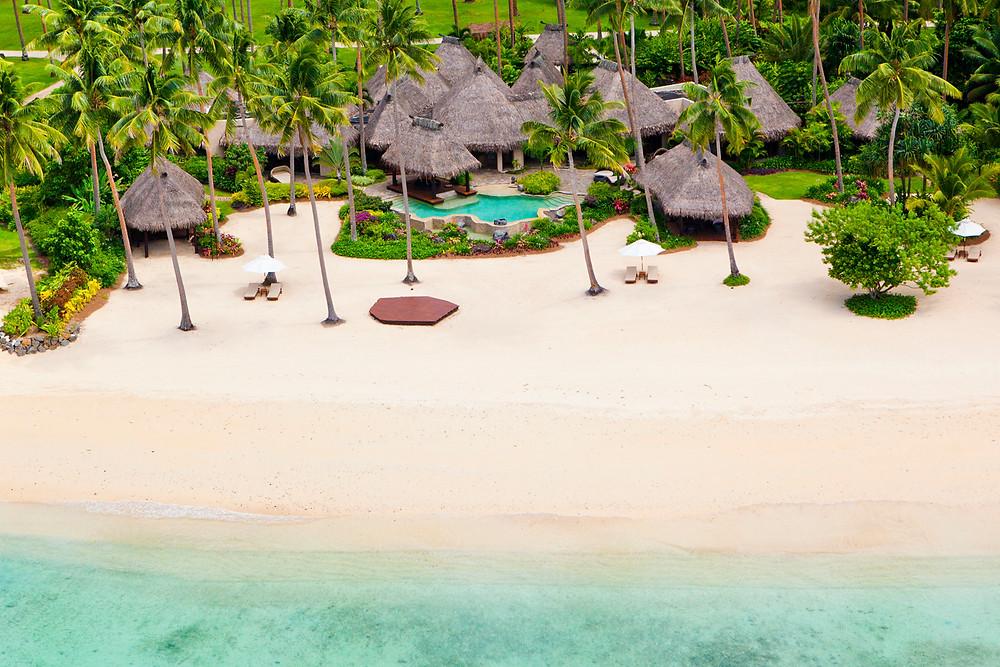 Laucala Private Island Resort schönste Insel der Welt, schönstes Resort der Welt, schönstes Strandresort der Welt