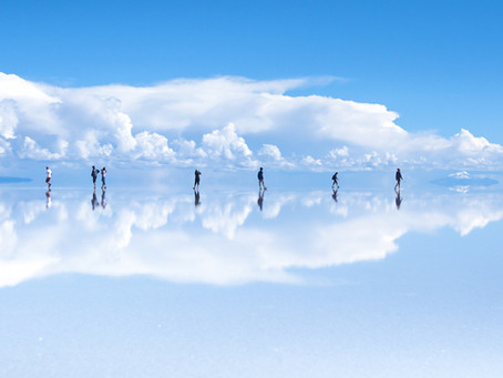 Ein einmaliges und unvergessliches Naturwunder - der Salar de Uyuni in Bolivien