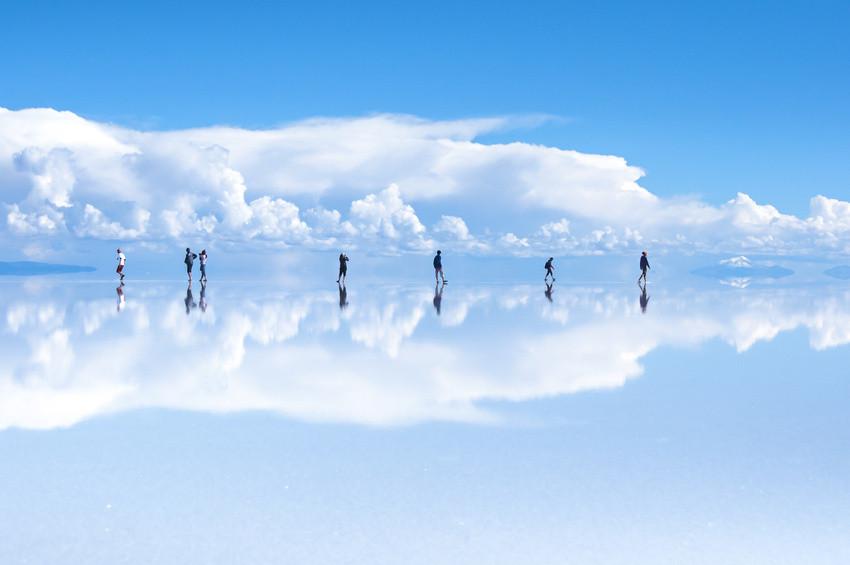 Salar de Uyuni Bolivien, größter Salzsee der Erde, Ausflug Salar de Uyuni