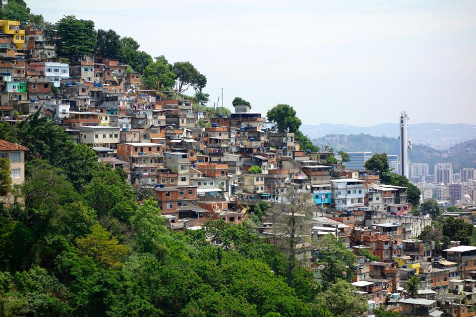 Favelas besuchen in Rio de Janeiro