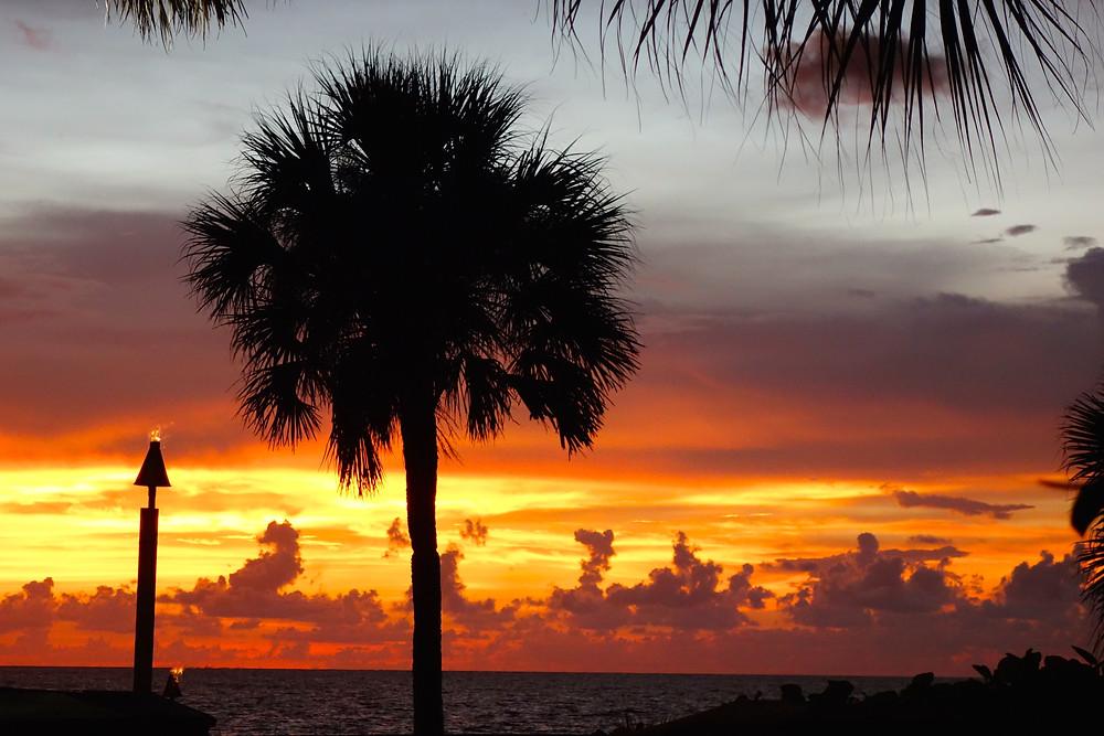 Sonnenuntergang Naples, Sonnenuntergang Florida, die schönsten Sonnenuntergänge der Welt