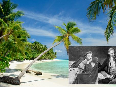 Südsee heute. Was würden Paul Gauguin und James Cook dazu sagen?  Ein Interview. Fiktiv-historisch,
