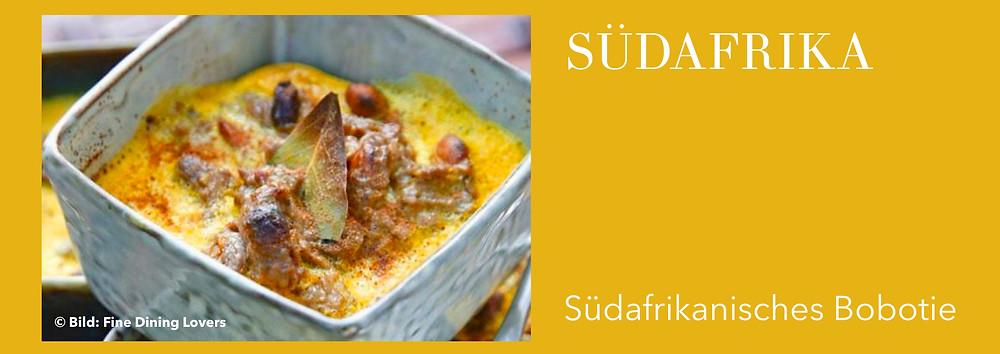 Rezepte aus Südafrika, südafrikanische Küche
