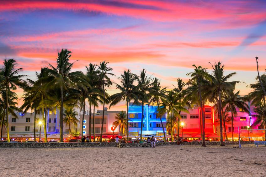 Miami Beach, Ocean Drive Miami Beach, Miami Beach Hotel, Miami Beach Wetter, Miami South Beach, South Beach Miami