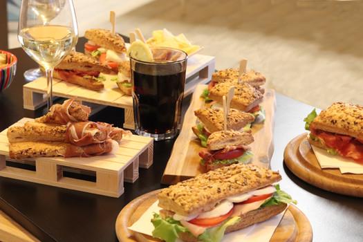 "Sfoglino, the ""puff panini bread"""