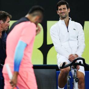 Australia: Kyrgios vs. Djokovic and Reindeer Games