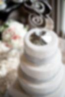 Ampersand Cake Topper Greensboro Wedding Planner