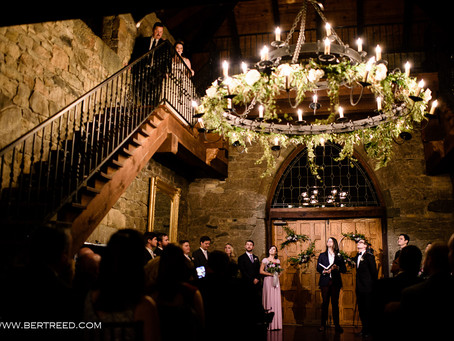 A New Year's Eve Castle Wedding