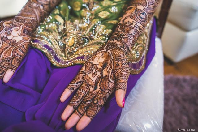 Henna: Poonam Solanki