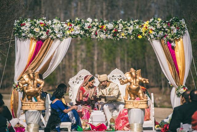 Ceremony on Grandover Lawn
