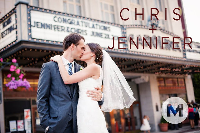 Jennifer and Chris's Carolina Theater Wedding