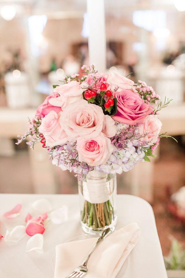 Pink Purple Bouquet Greensboro Wedding Planning