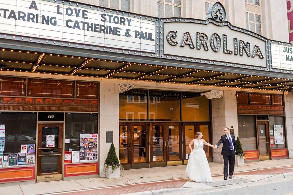 Carolina Theater Wedding Greensboro Wedding Planner