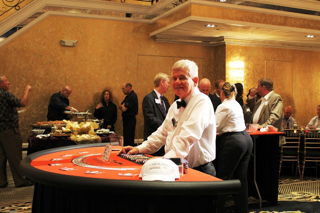 Casino Black Jack Table