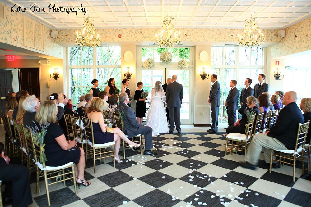 O.Henry Greensboro NC Wedding Ceremony