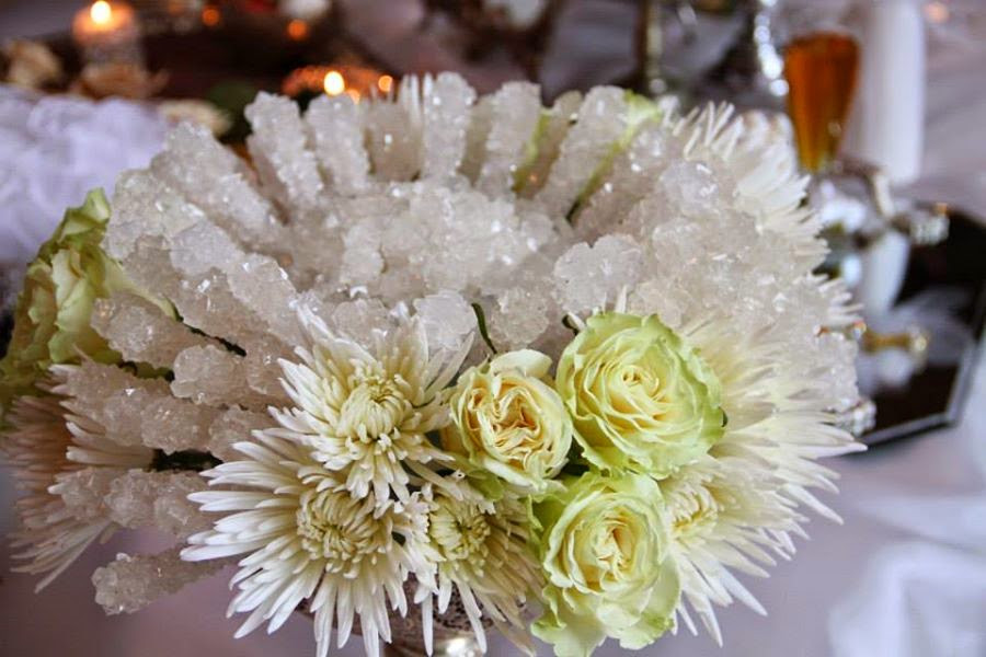 crystallized sugar canes: sweetens life for the newlyweds