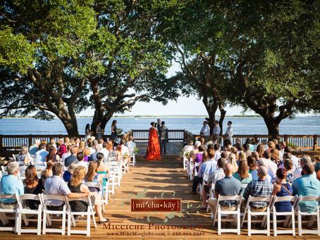 Southport North Carolina Coast Wedding
