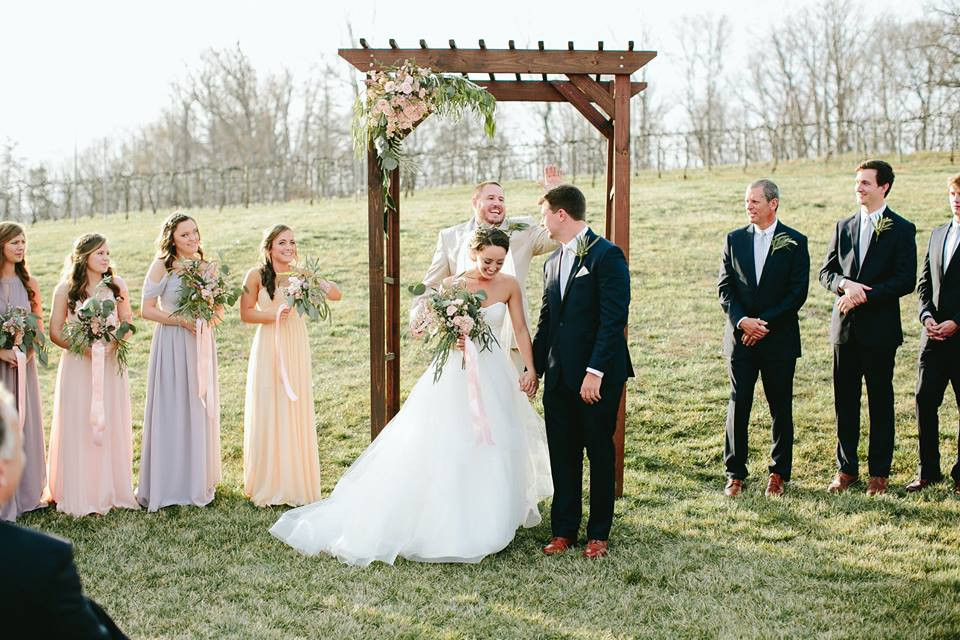 Arbor Ceremony Greensboro Wedding Planner