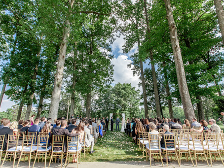 Starmount Forest Country Club Woodsy Wedding