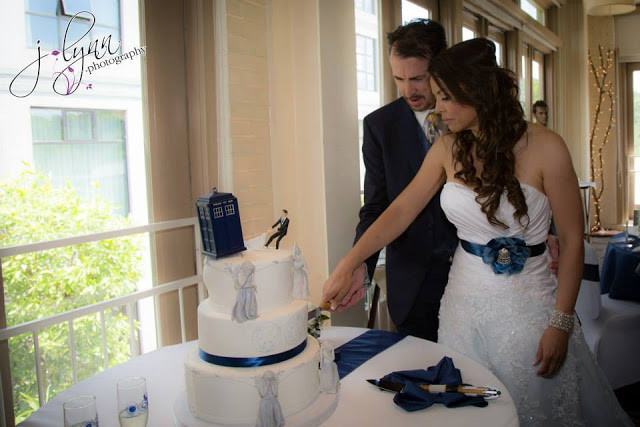 Dr. Who Wedding Cake from Simply Cake