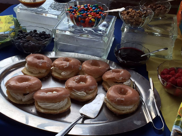 Donut Slider Bar from Peppermoon Catering