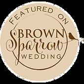 Brown Sparrow Wedding