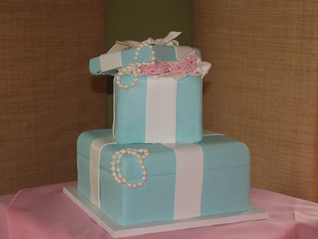 Tiffany Themed Baby Shower