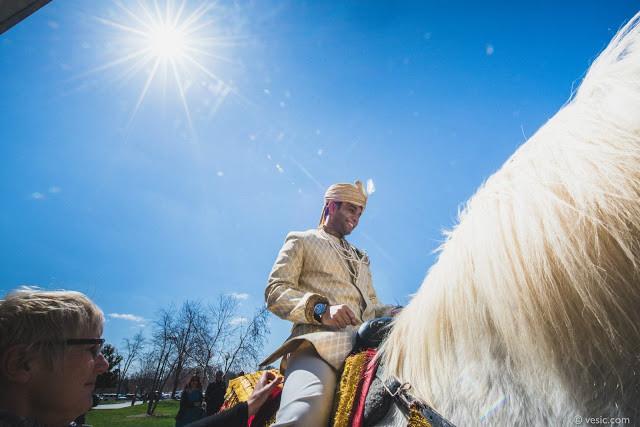 Baraat on Horse