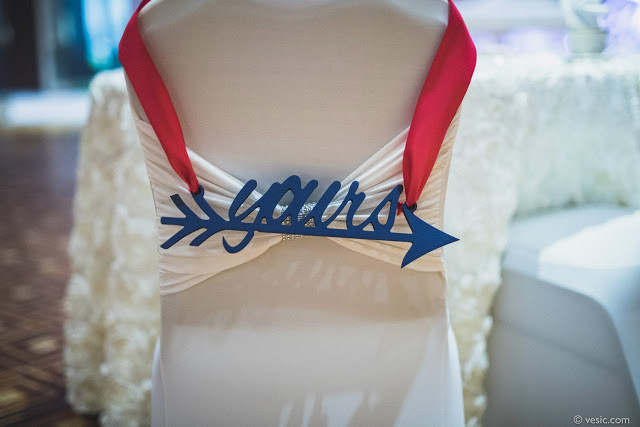 BHDLN Bride and Groom Reserved Signs