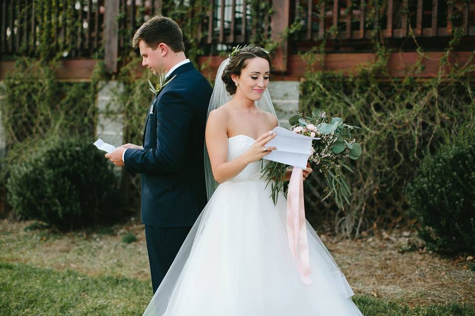 First Look Greensboro Wedding Planner