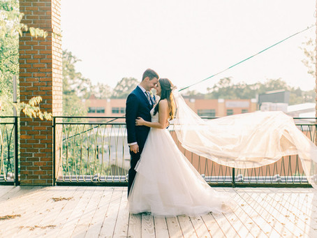 Kaitlyn and Mark's Durham Cookery Wedding