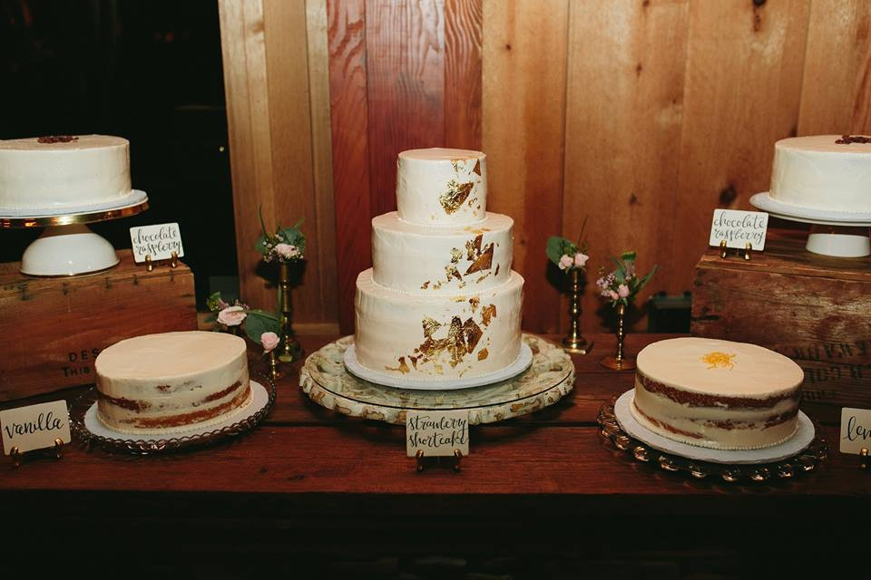 Naked Wedding Cake Greensboro Wedding Planner