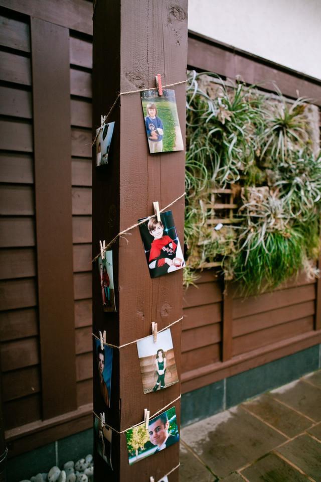 Childhood Pictures Wedding Decor