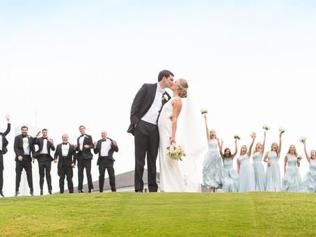 A Classic Country Club Summer Wedding