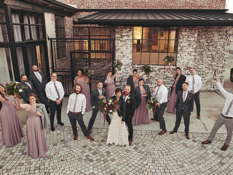 Brennan and Zack's Downtown Greensboro Wedding